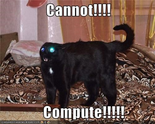Cannot Compute
