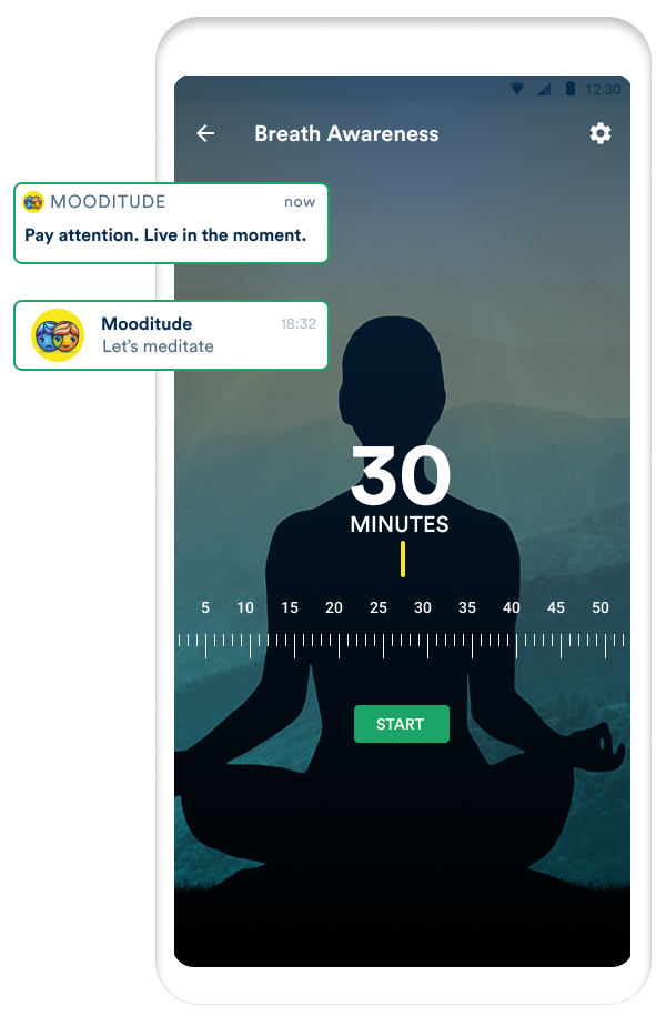 app with guided meditation exercises for anxiety and panic
