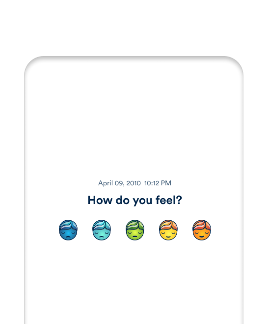 Mooditude - Personalized Mental Health and Mood Tracking App