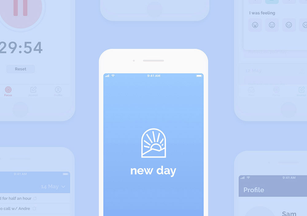 New Day App Screenshot