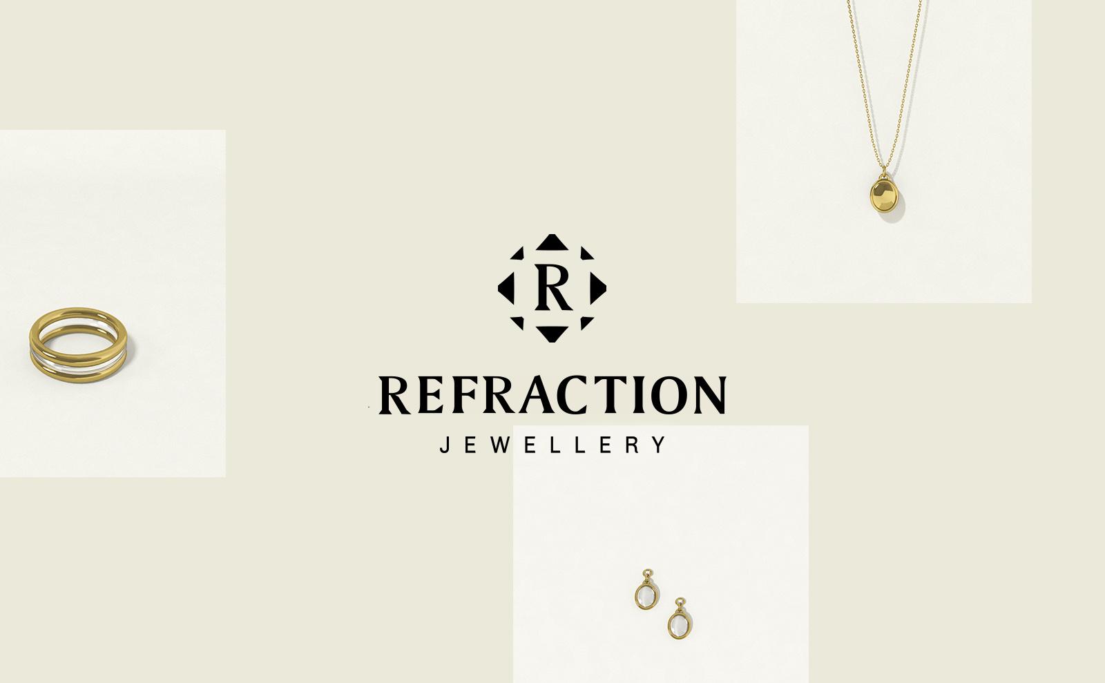 Refraction Website Concept Logo
