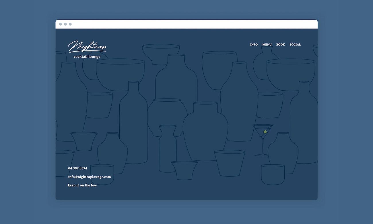 Low Light Festival Website Landing Page