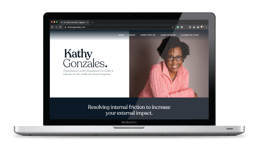 Dr. Kathy Gonzales Consulting website