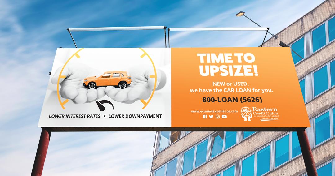 Eastern Credit Union Trinidad – Promotional Campaign Upsize Billboard