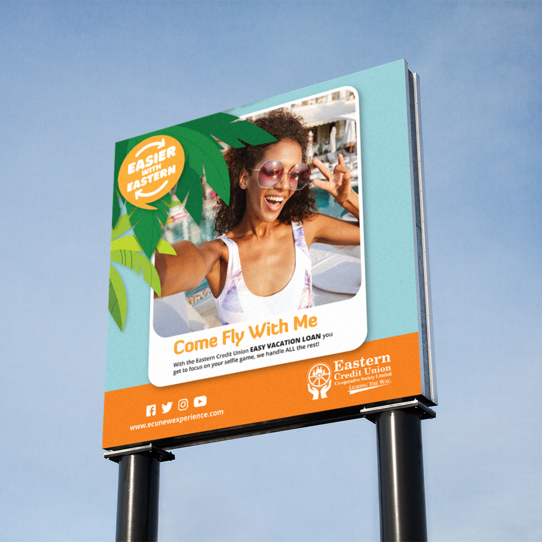 Eastern Credit Union Trinidad – Promotional Campaign Billboard