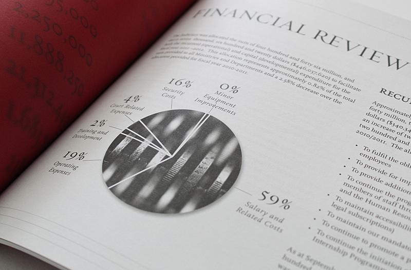 Judiciary of the Republic of Trinidad and Tobago – Annual Report 2012 financials