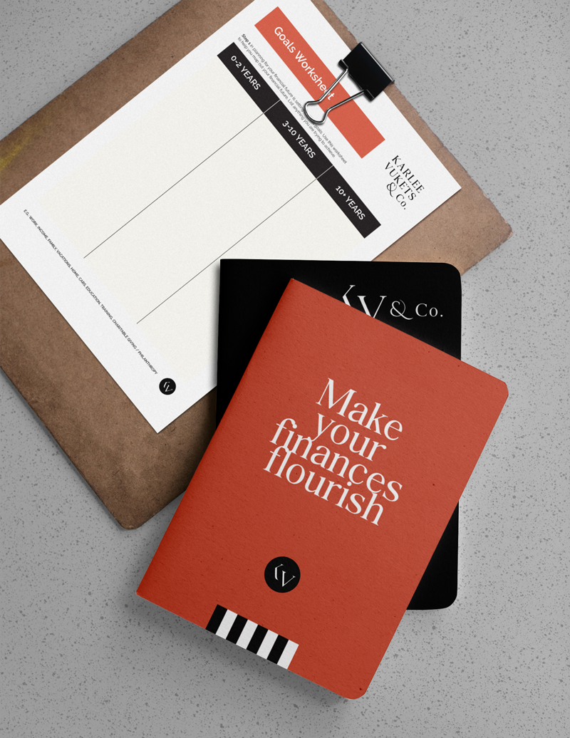 Bold Move Studio - Client showcase - Karlee Vukets and Co - Brand Refresh