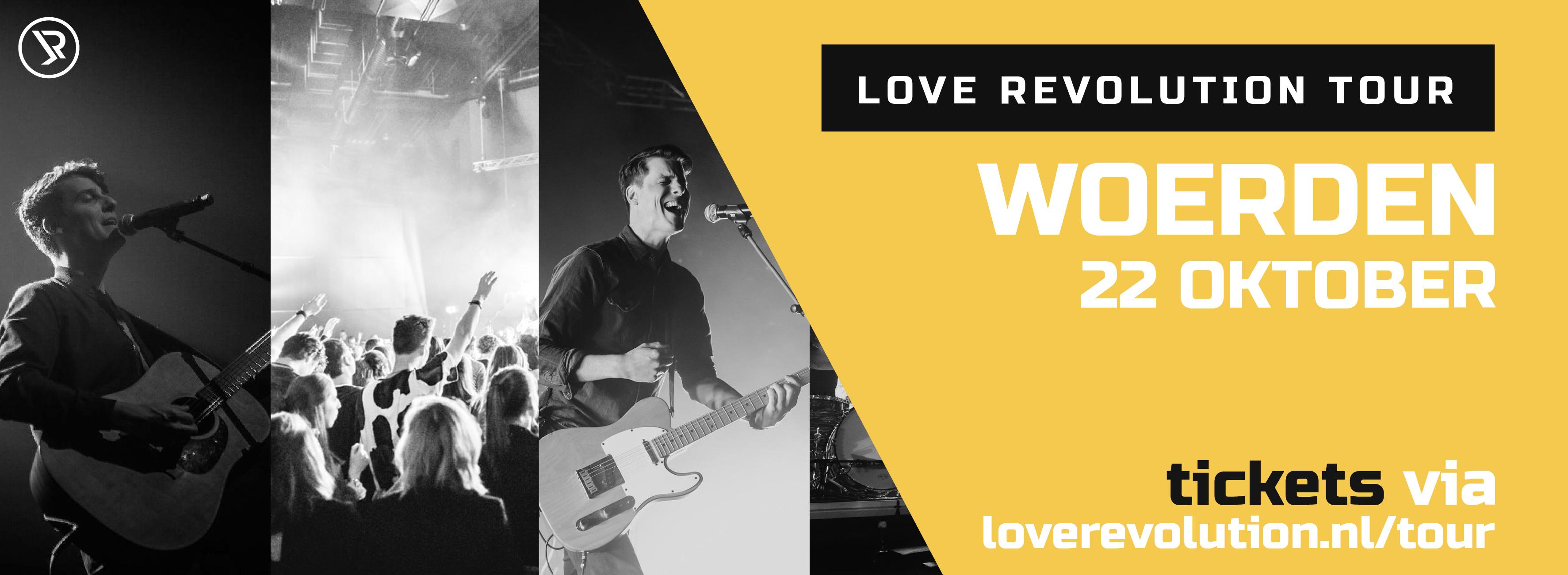 LOVE REVOLUTION TOUR 2021 met Hanne de Vries