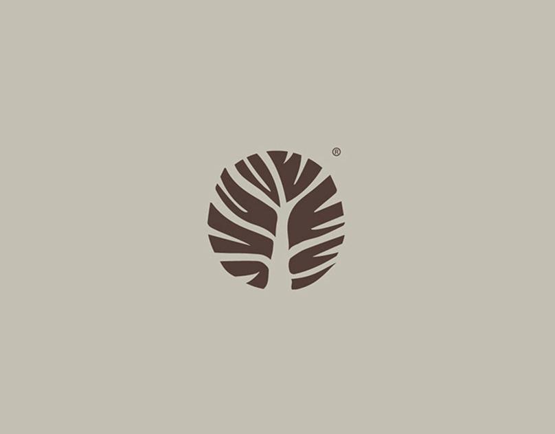 uladish ecological vegetarian vegan restaurant logo design