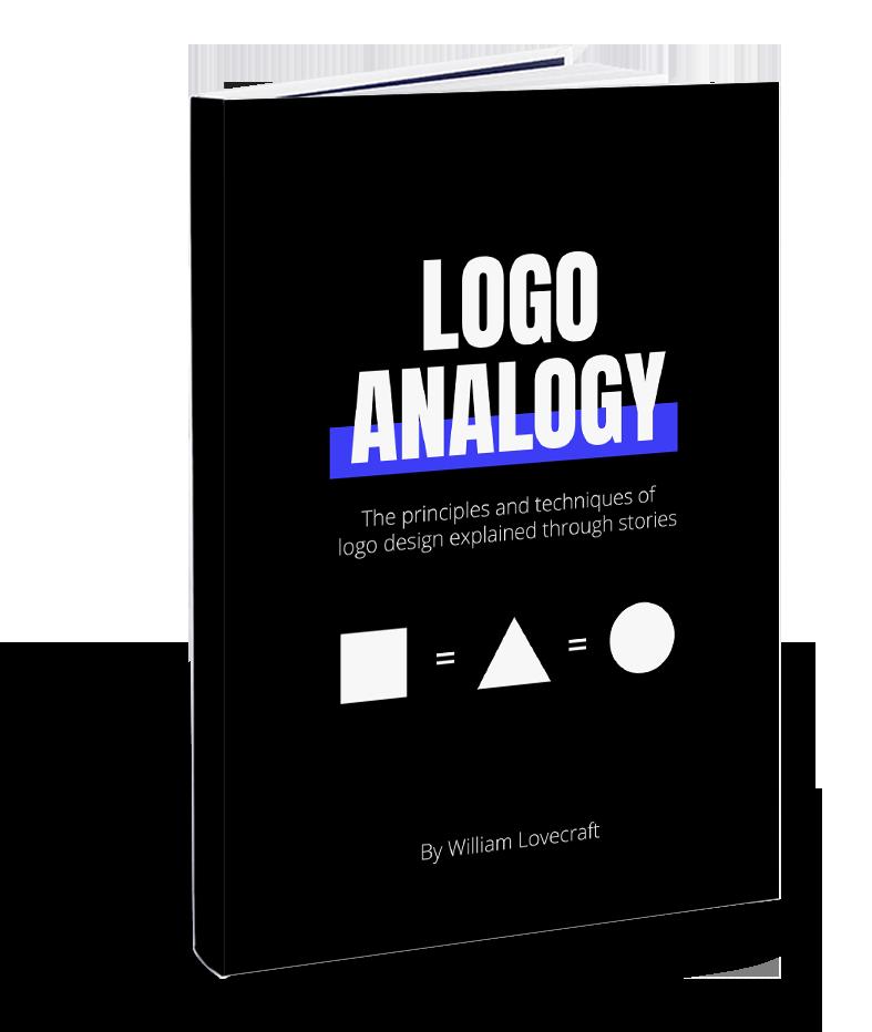 william lovecraft book logo analogy learn logo design easy fun