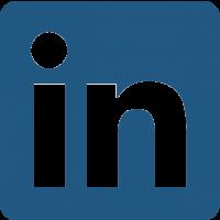 Logo de linkedin faisant référence à la communication monétisée de nos campagnes de communication.