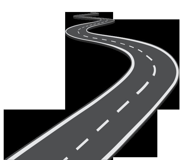 Exemple de la route pour parler de l'amélioration des processus et de la vie de l'entreprise