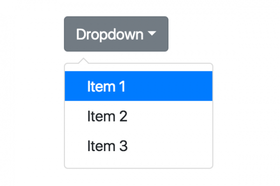 The powerful dropdown widget