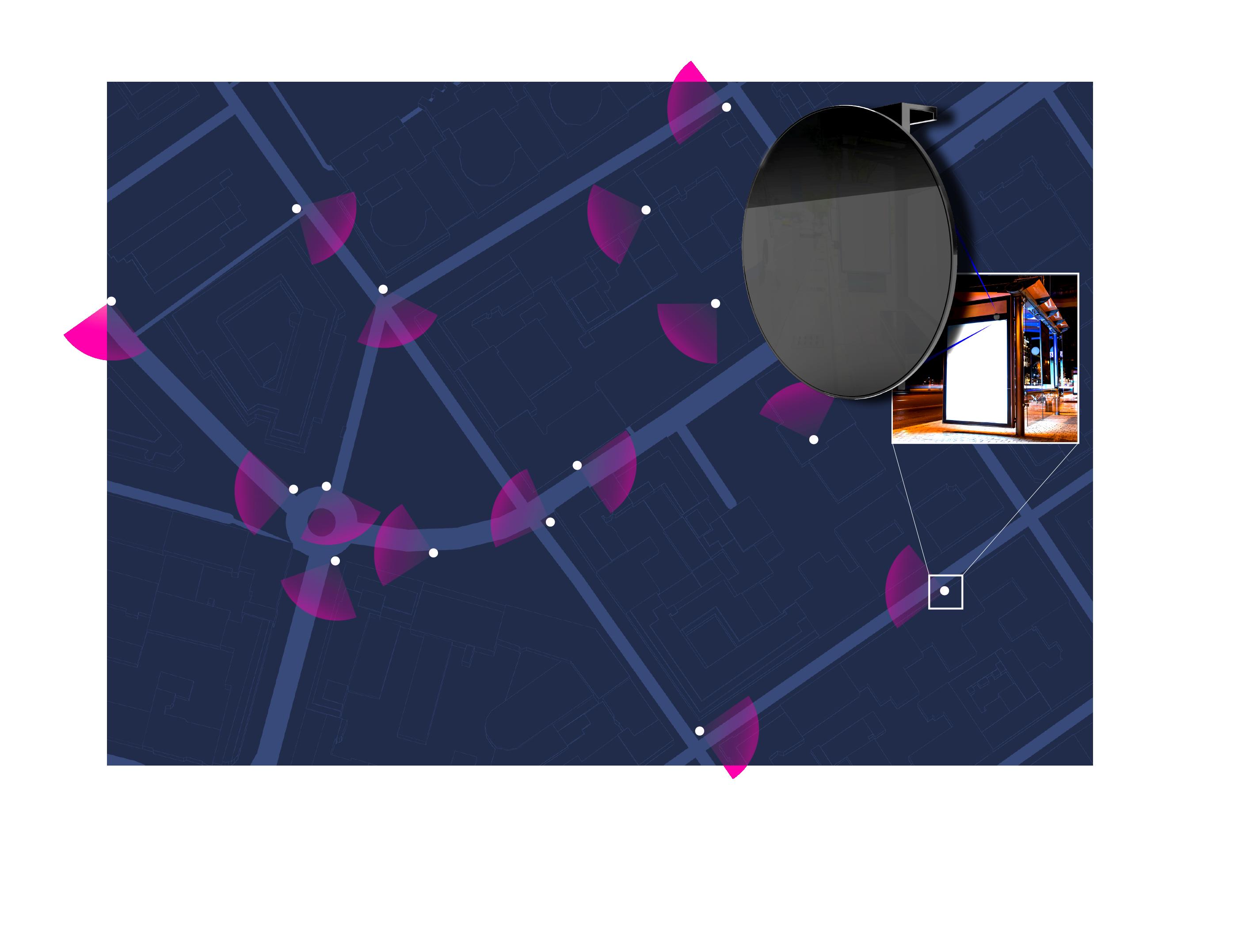 Drakoneye data collecting network