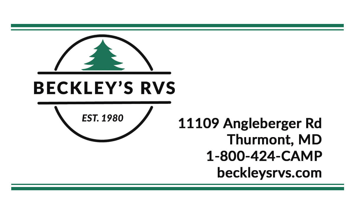 Beckley's Business Card Front