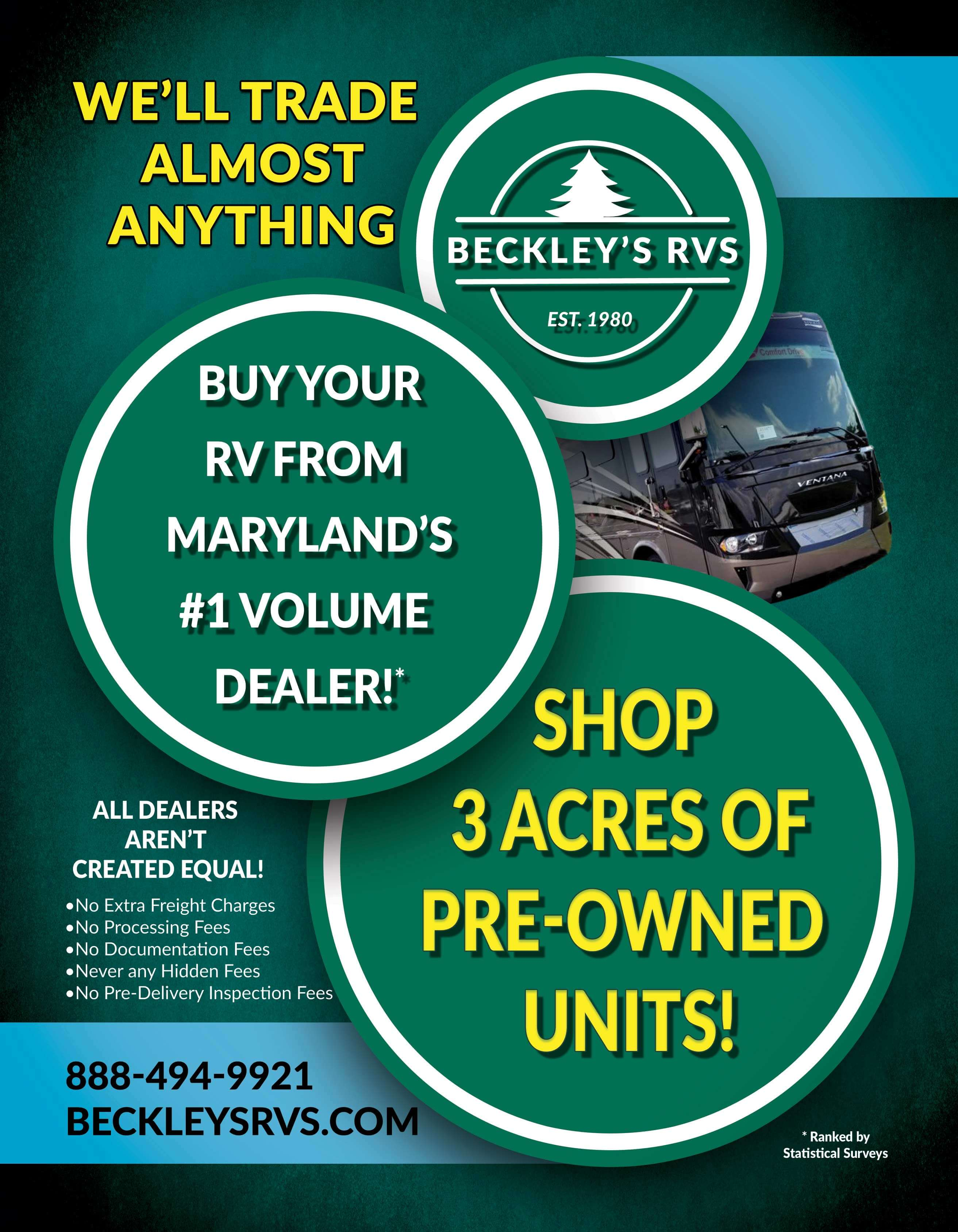 Beckley's Used Catalog Back
