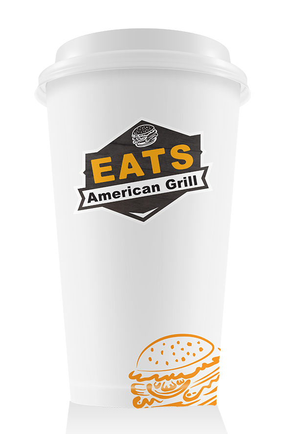 Eats Coffee Cup