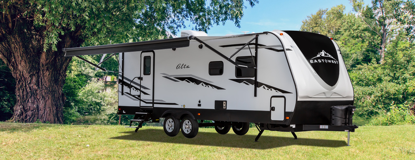 East to West Travel Trailer