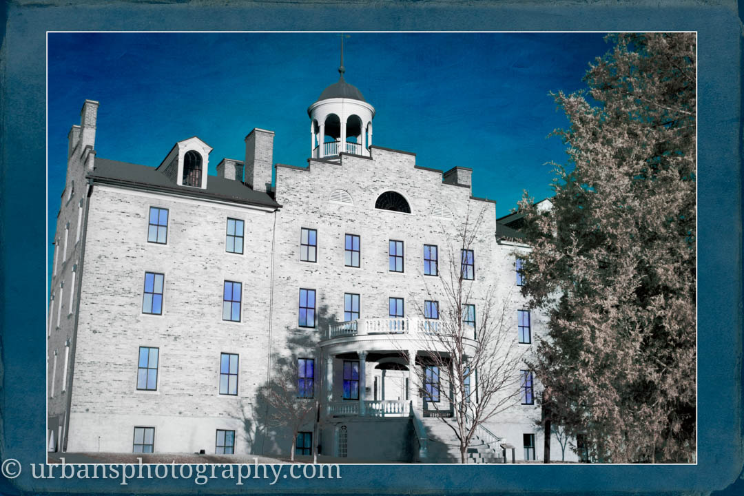 Infrared view of the Cupola on Seminary Ridge.