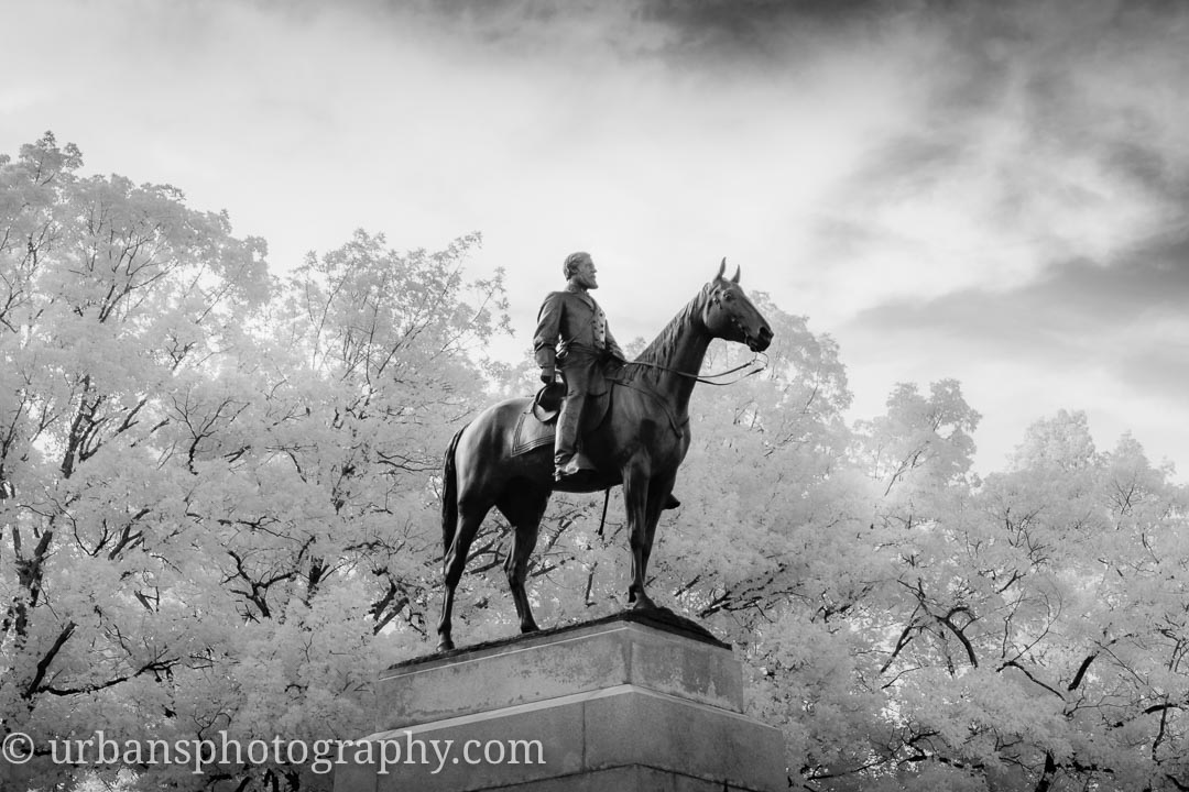 General Lee in Infrared