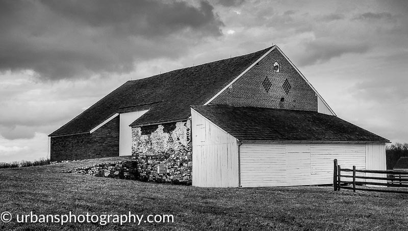 Trostle Barn at Gettysburg National Military Park