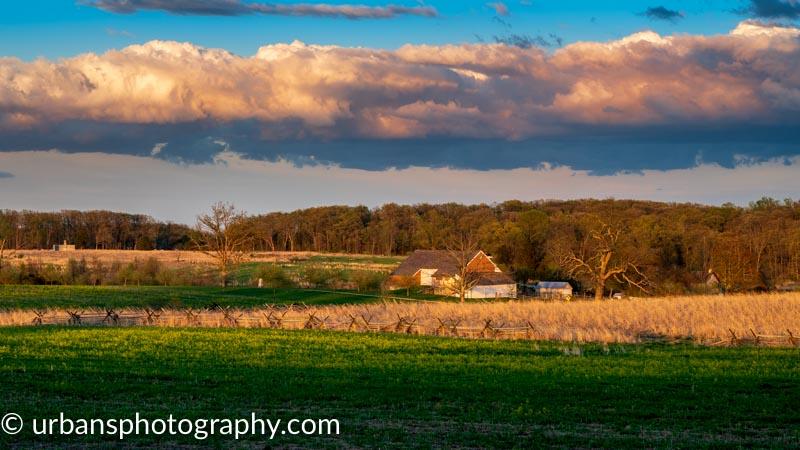 Trostle Barn in Gettysburg National Military Park