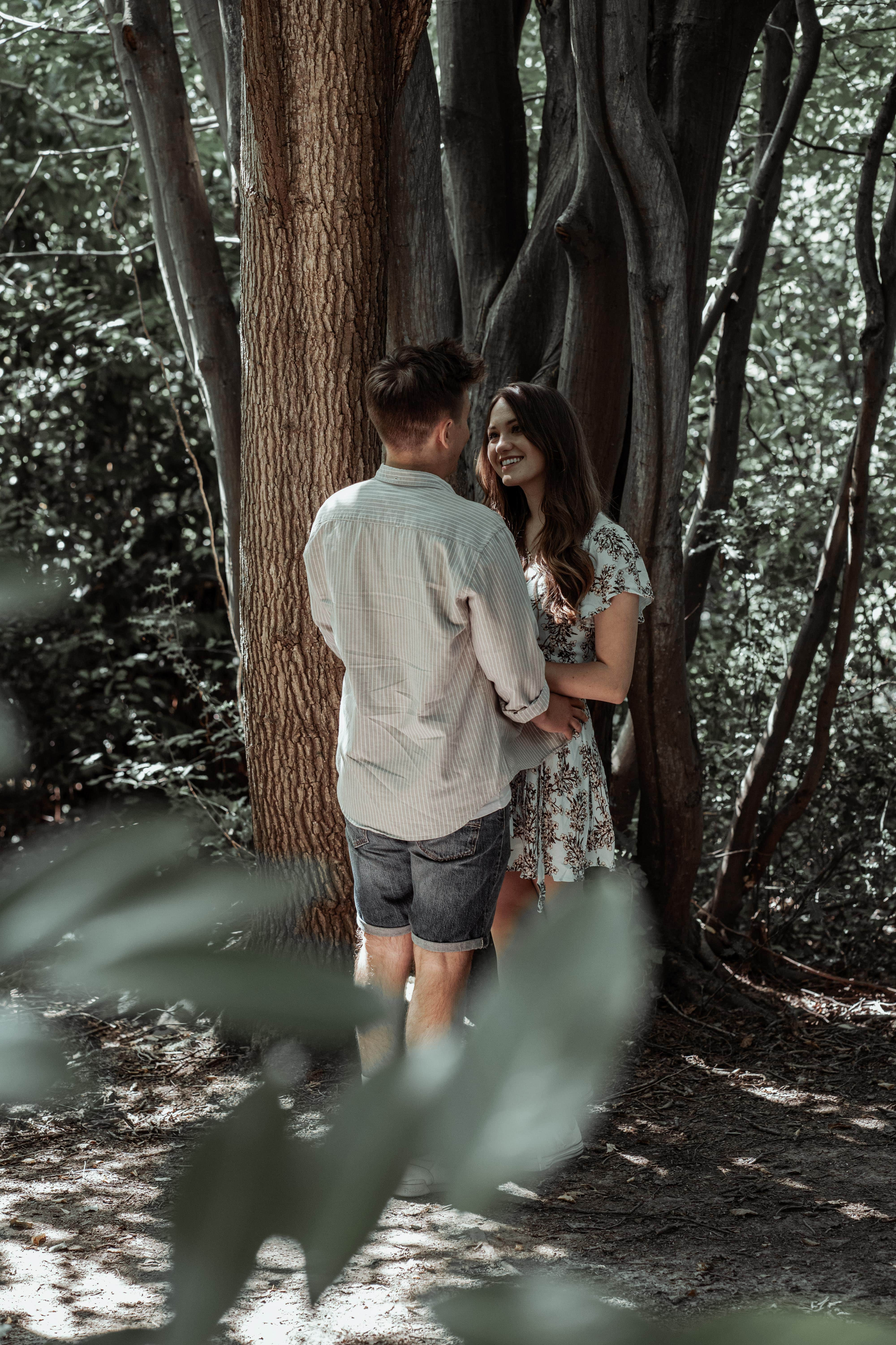 Forest walk engagement