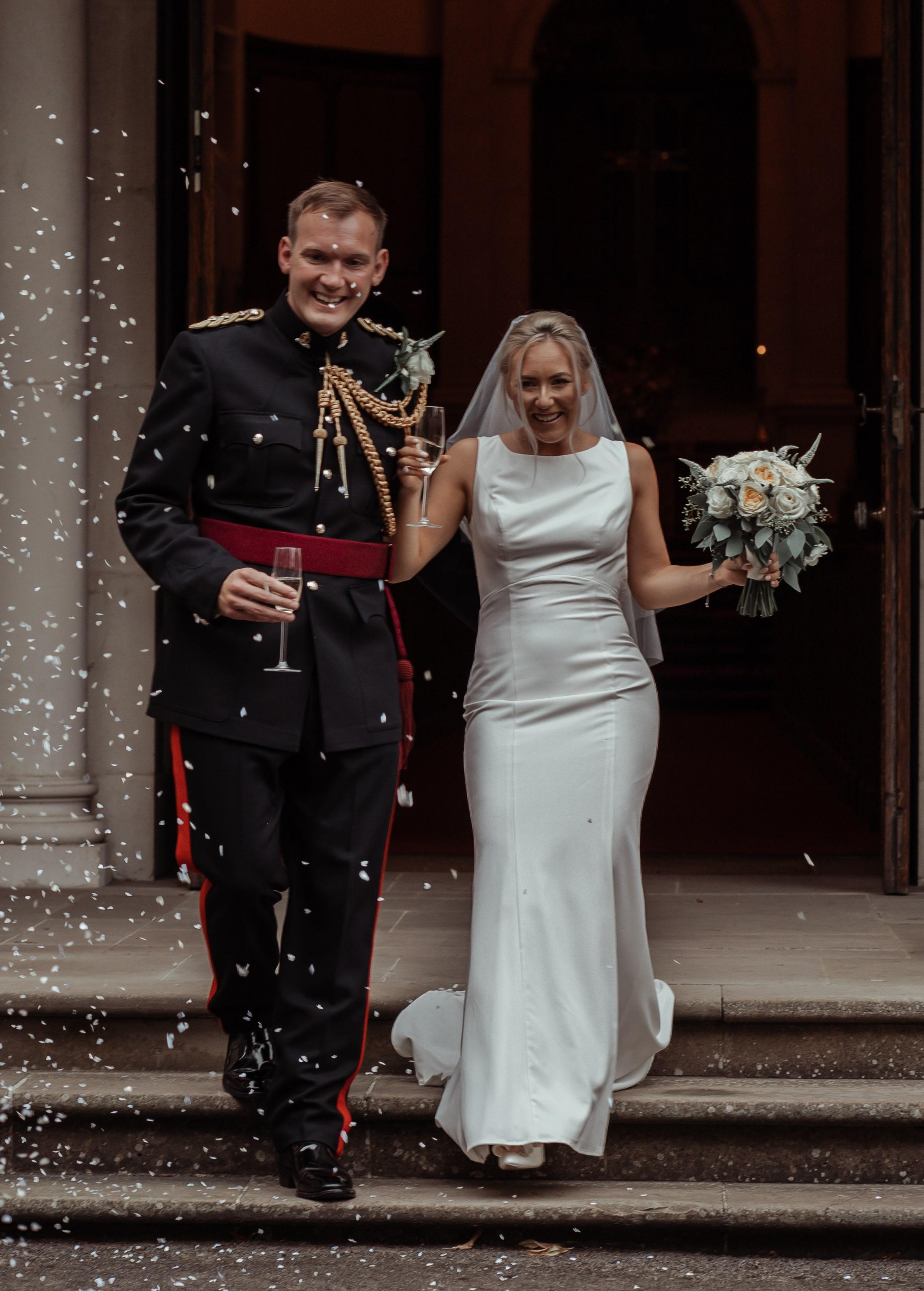 Military wedding Sandhurst