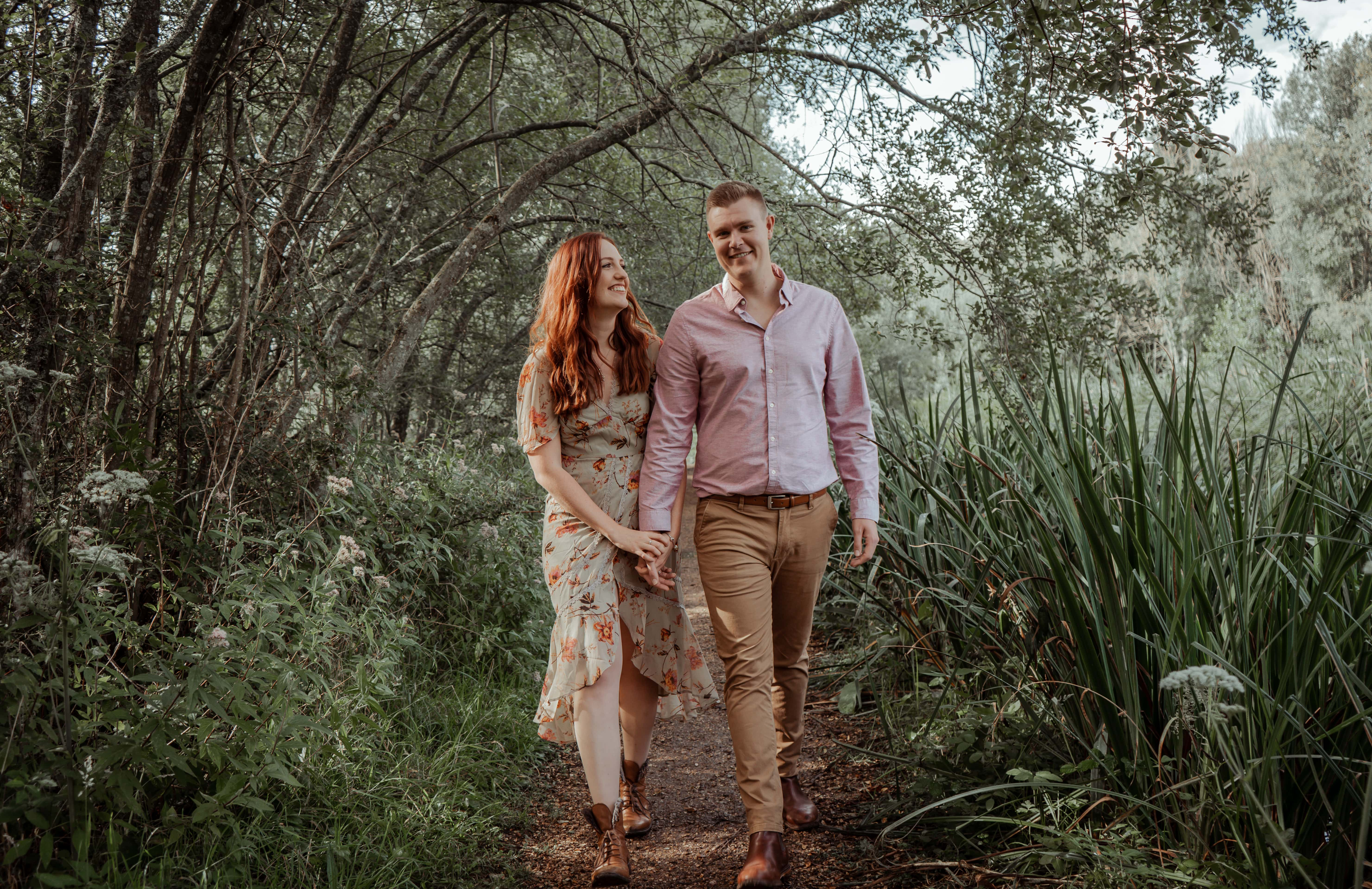 Ovington engagement photography