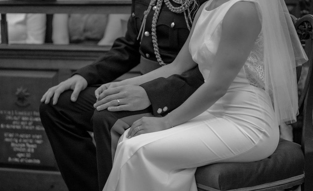 church wedding detail