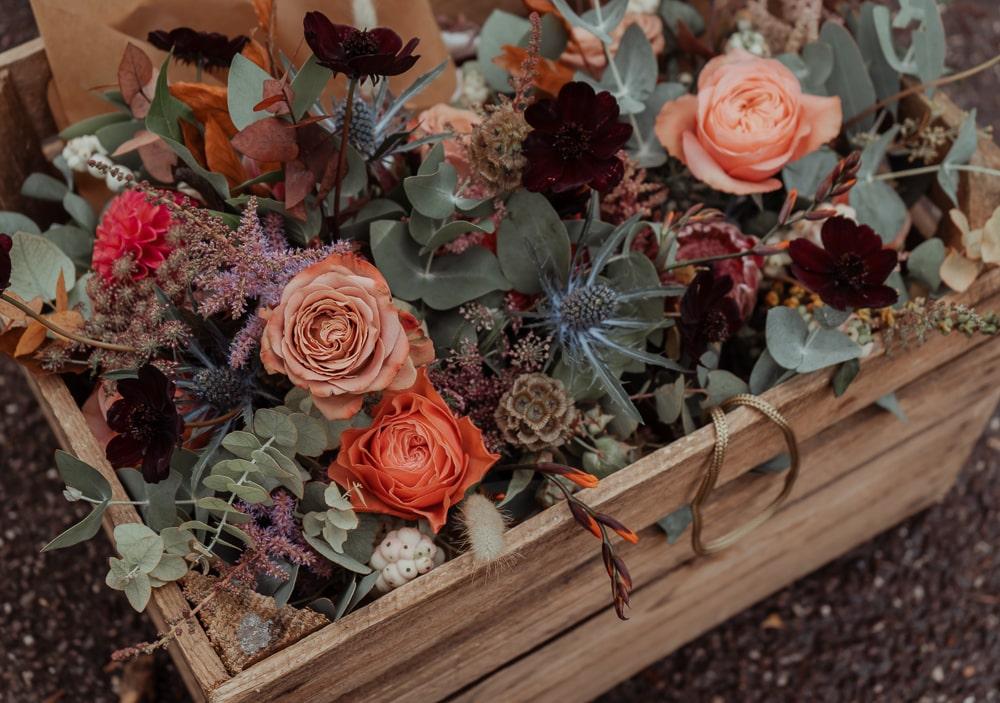 boho rustic wedding table
