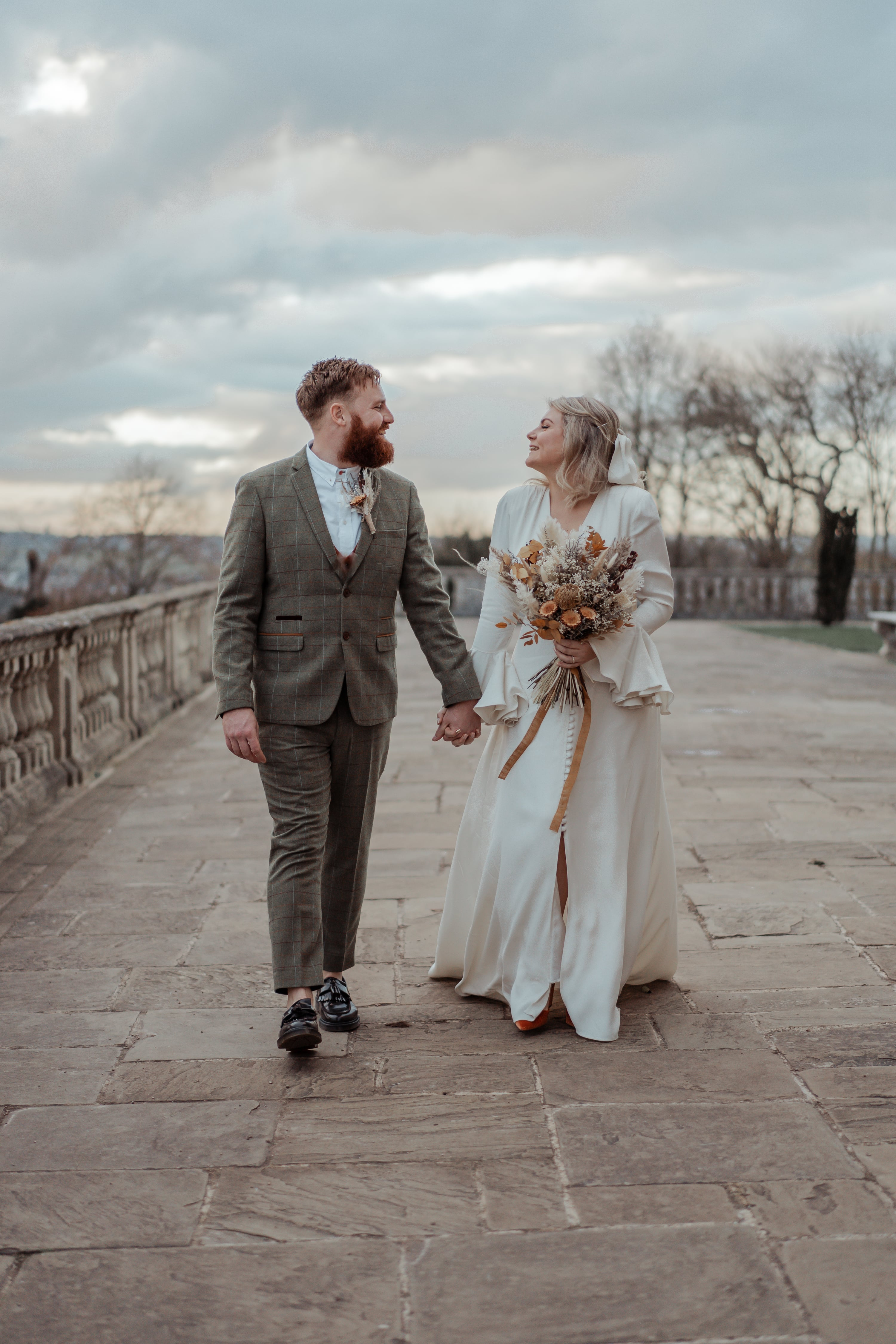 Winter Microwedding at Cliveden house