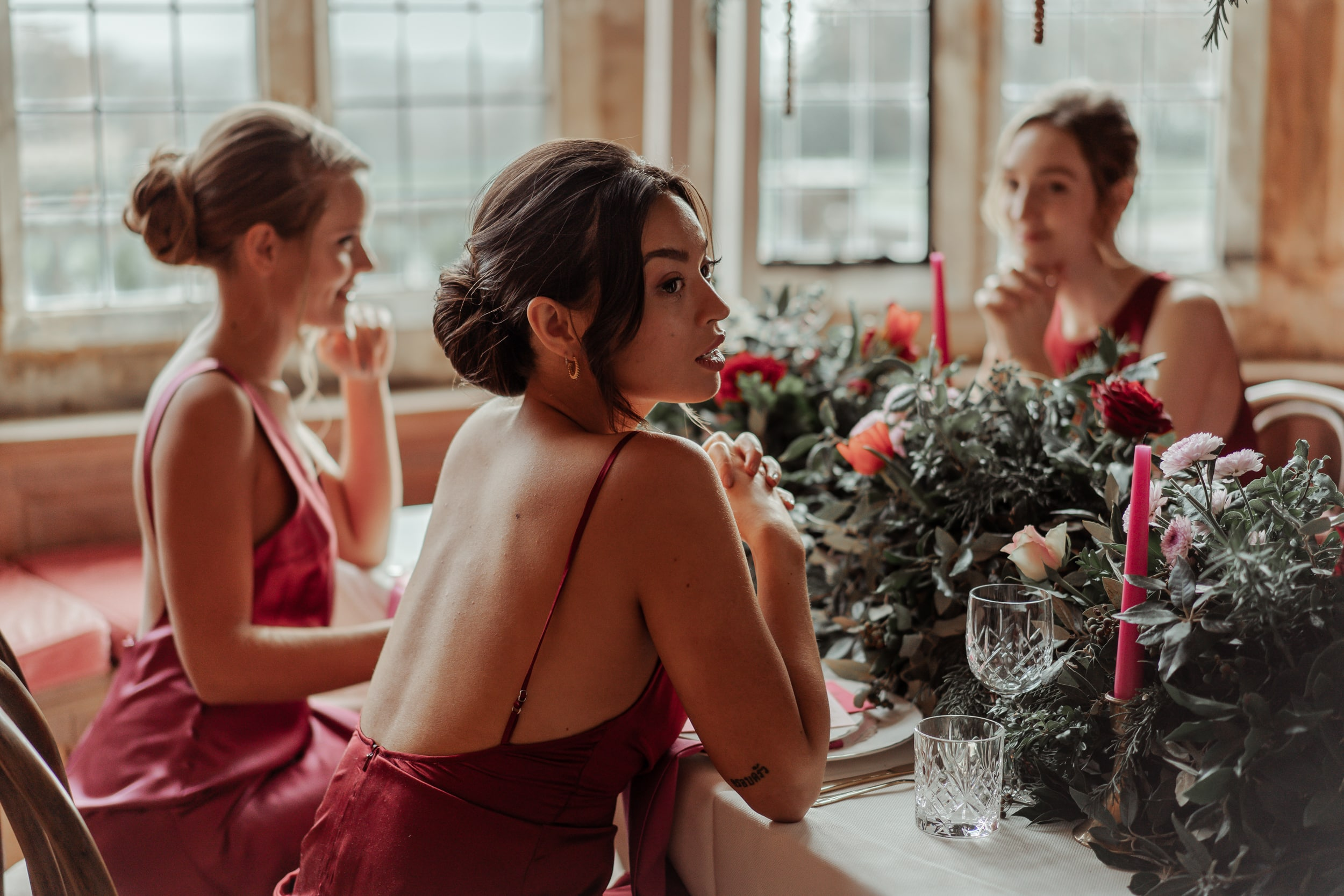 Valentine's Wedding Shoot at Balcombe Place
