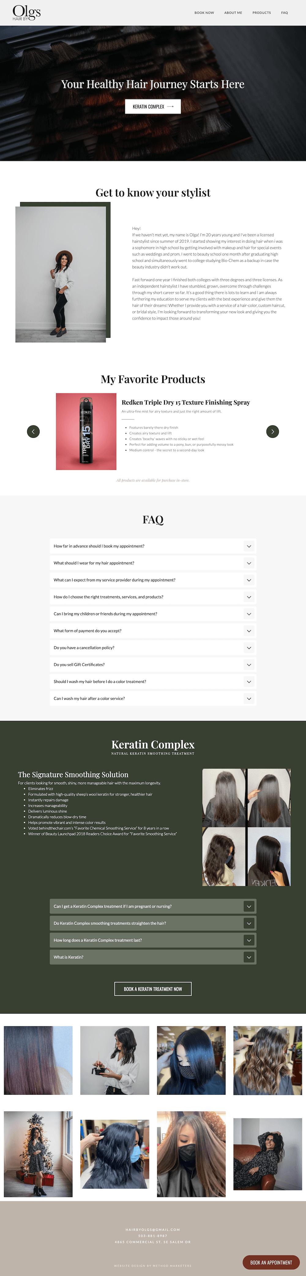 Oregon Web Design