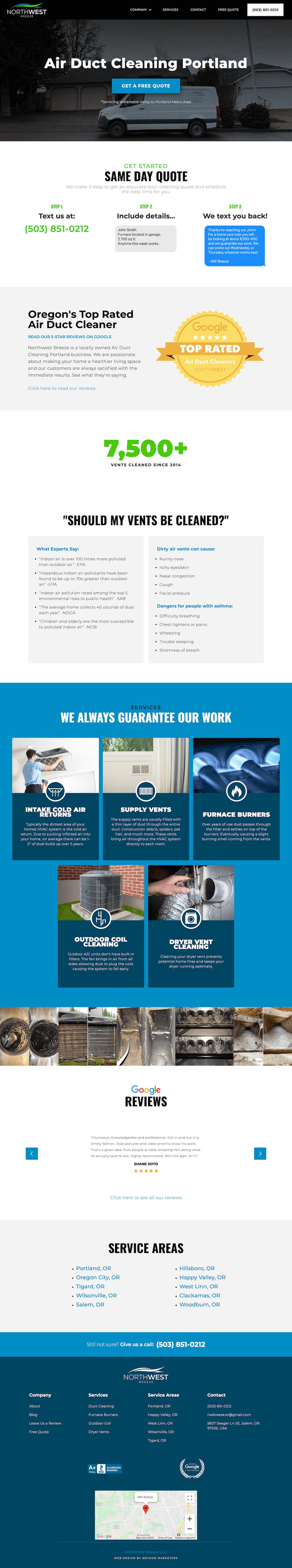 Salem Oregon Web Design