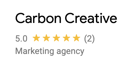 Carbon creative Marketing Agency example