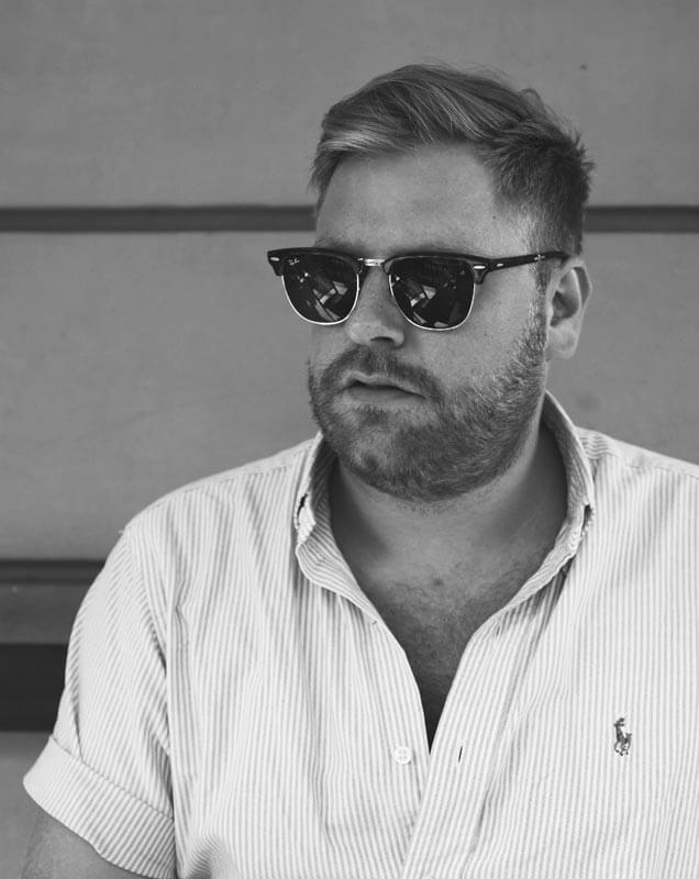 Jesper Bryngelsson founder of design agency sweatpants studio