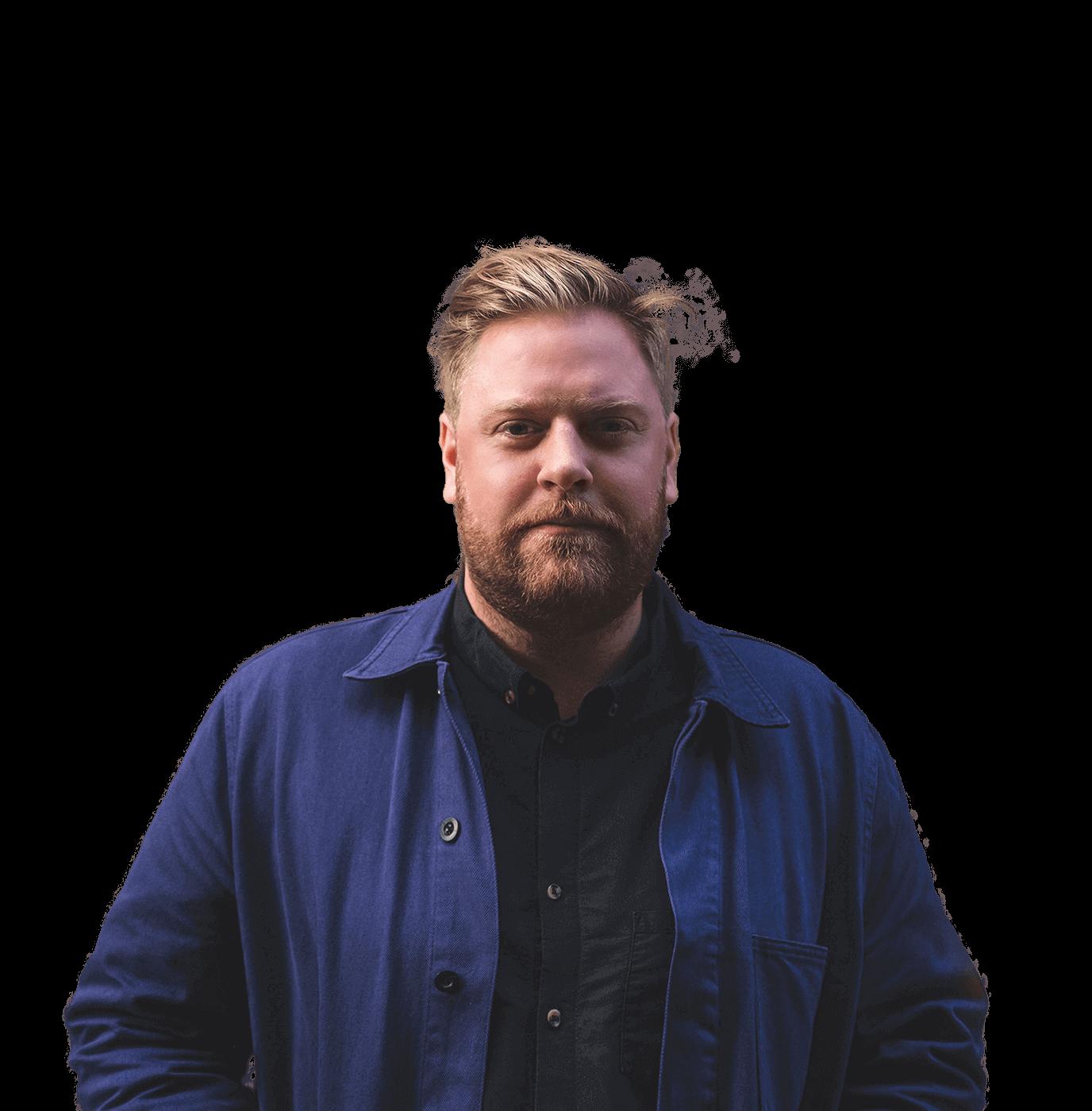 Portrait of Jesper Bryngelsson.