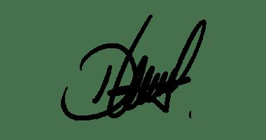 Signature manuscrite de Daniela Peñaranda