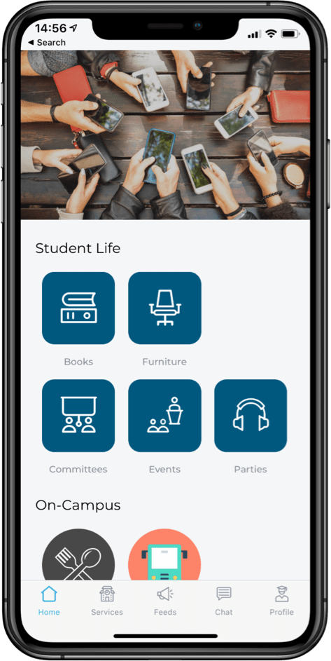 Sharing Solutions CampusApp