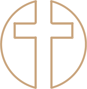 icon with cross in the middle