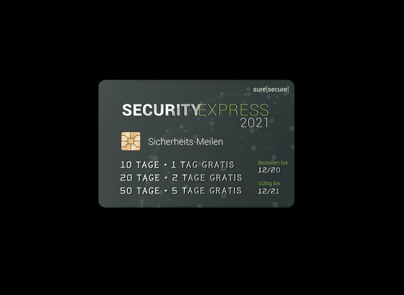 Sicherheits-Meilen