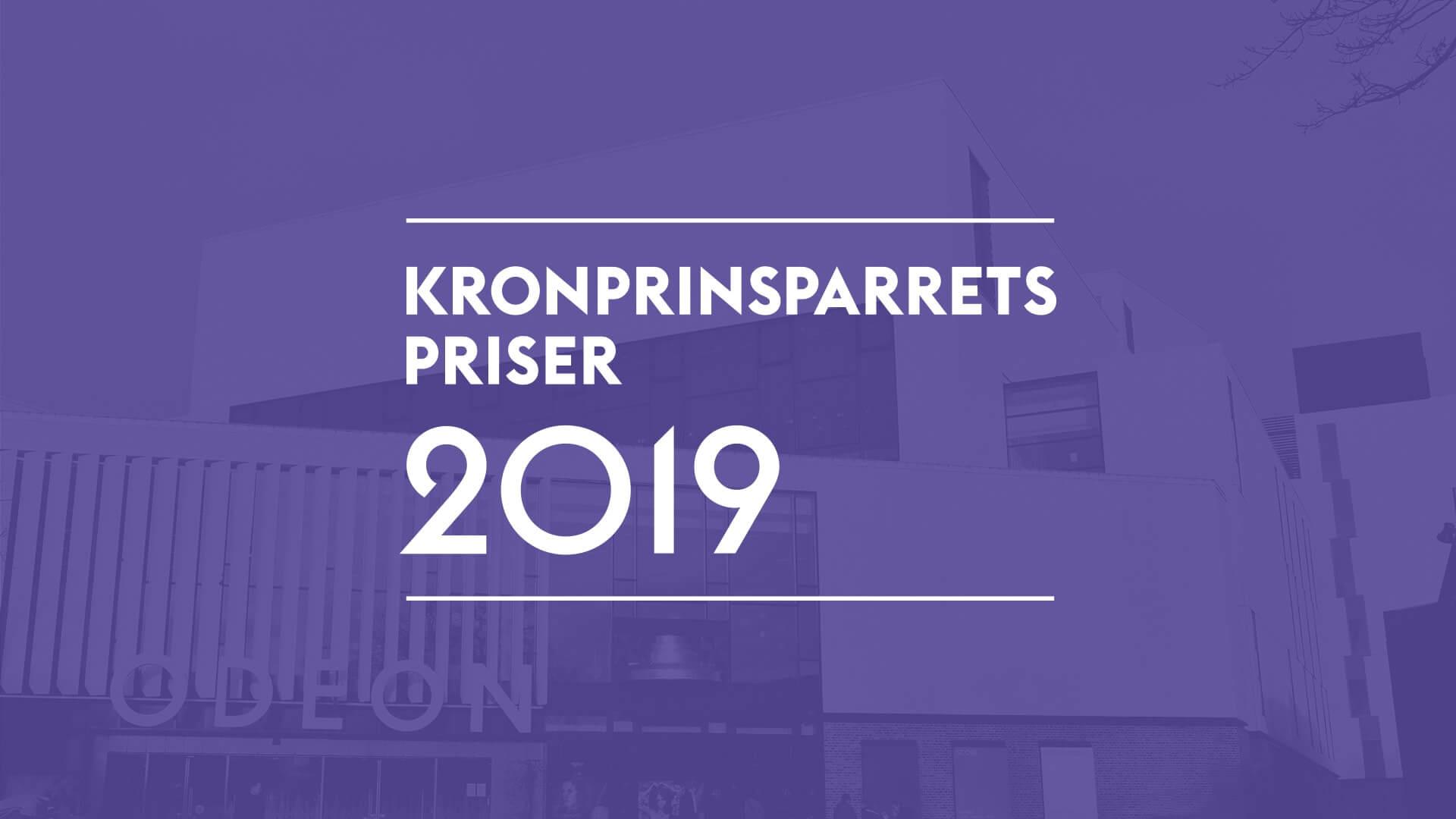 Kronprinsparrets priser 2019 logo