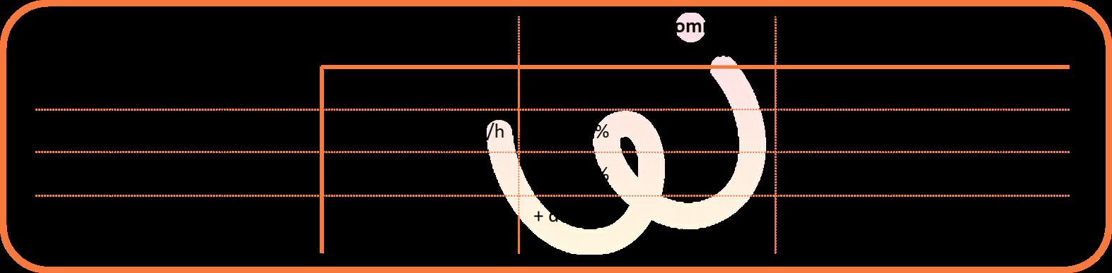 Variation d'intensité pendant un exercice de marche