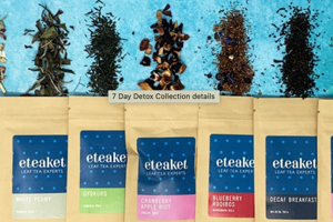 Eteaket tea packets and loose leaves