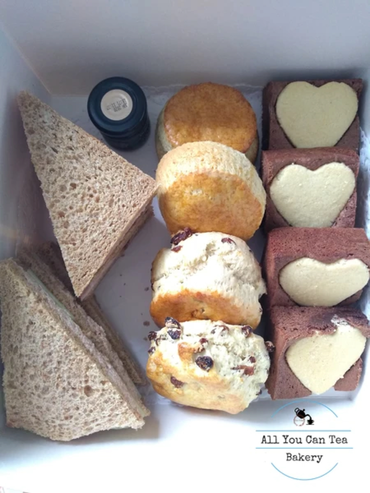All You Can Tea afternoon tea in a box