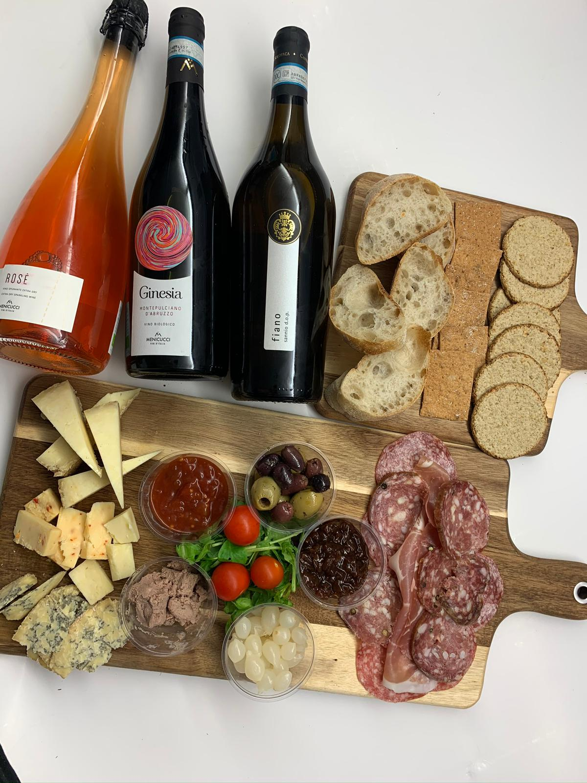 Wine and SprEHd platters