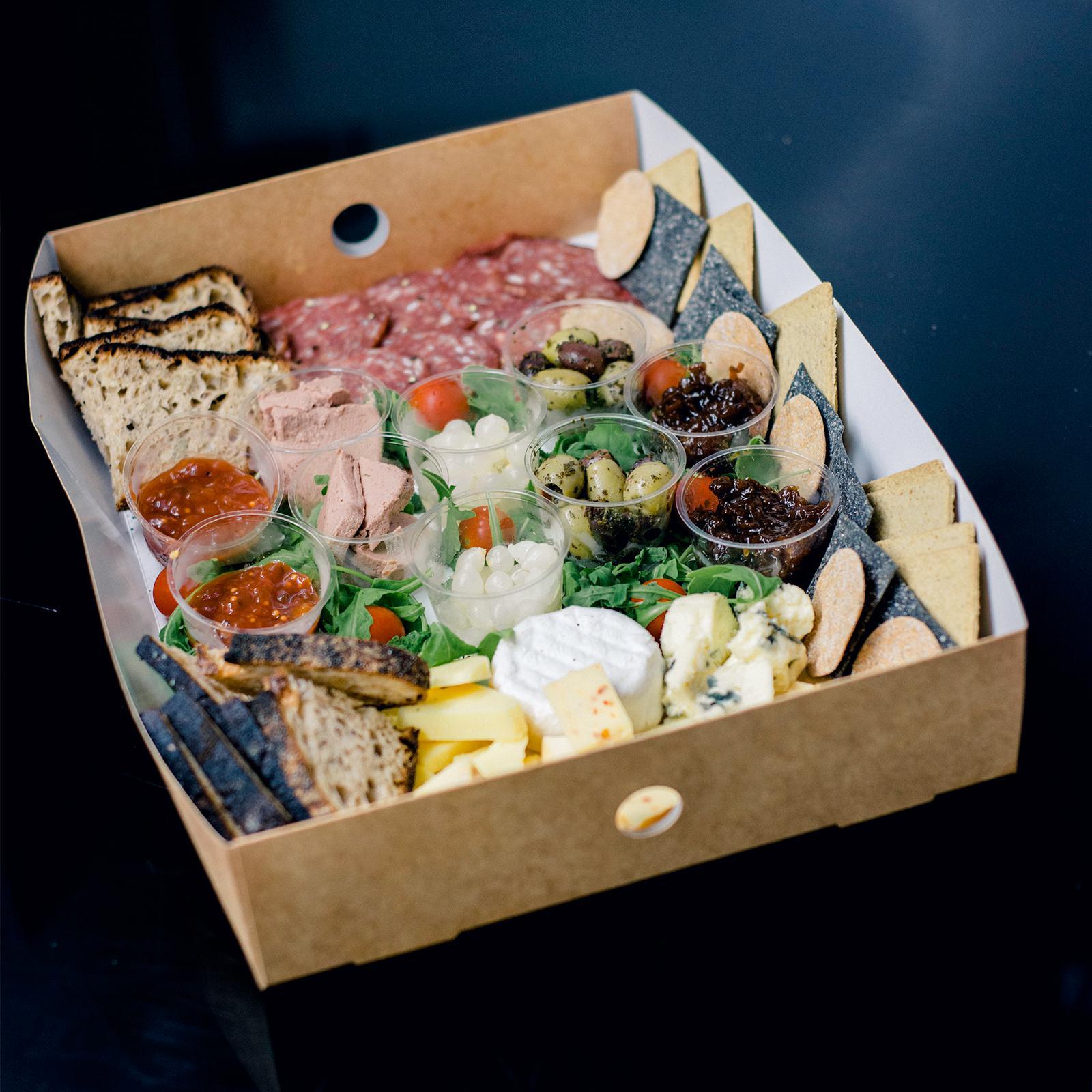 SprEH platter full of Scottish produce