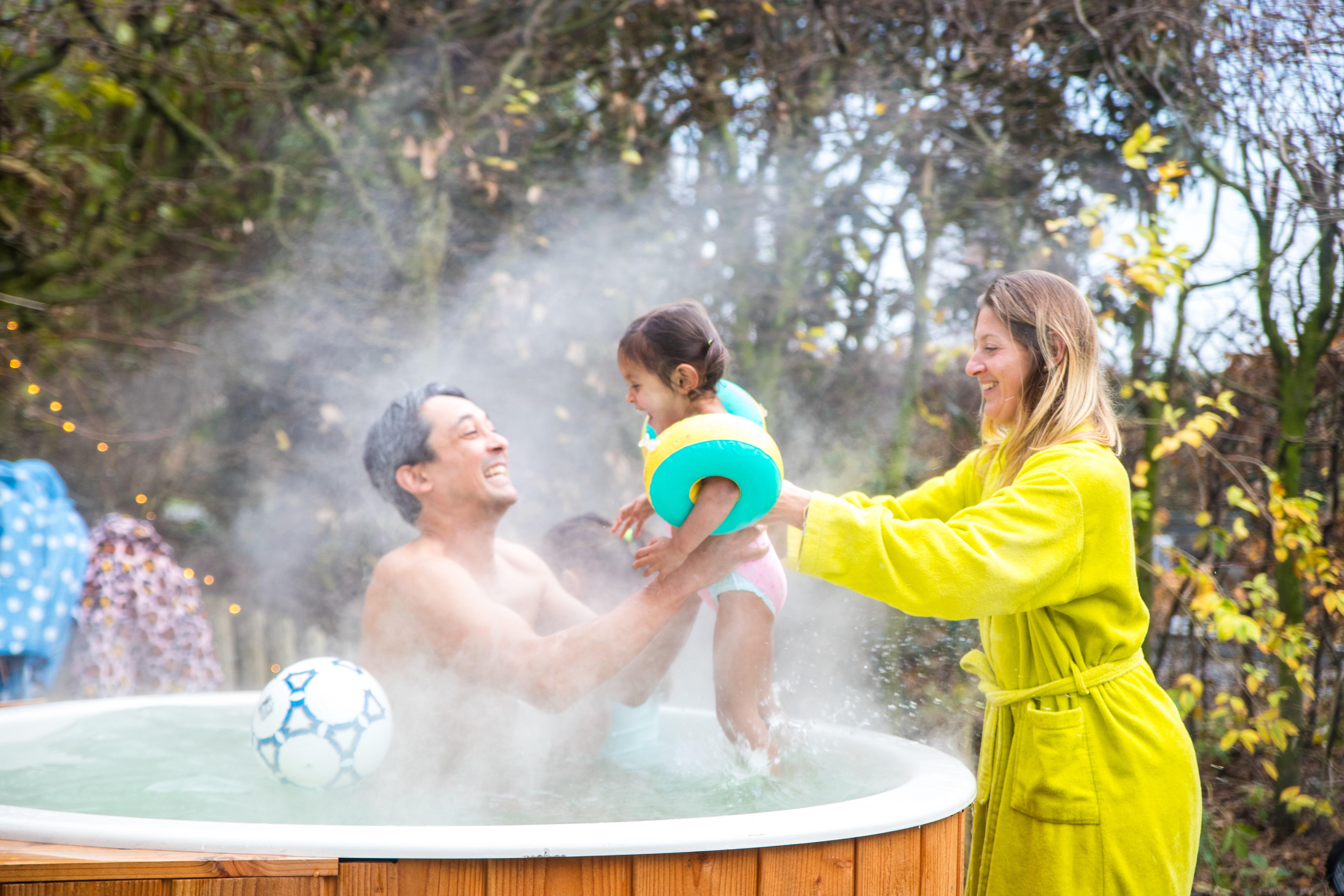 Een tub huren om leuk de feestdagen door te komen met het gezin