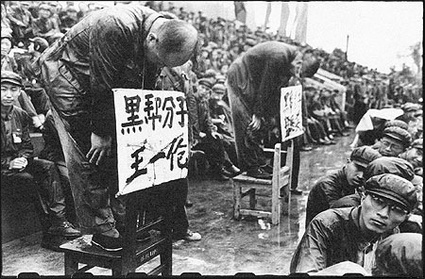 Shaming rituals were the weapon of choice deployed by the Red Guards.